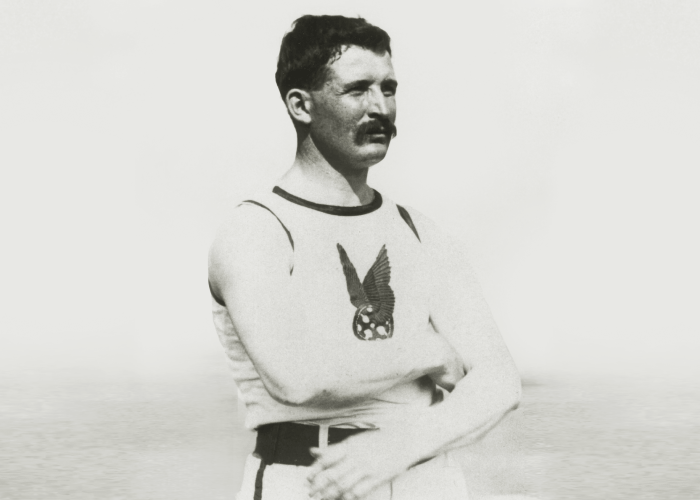 MAA, Etienne Desmarteau 1904 First Gold Medalist for Canadian Olympic Team