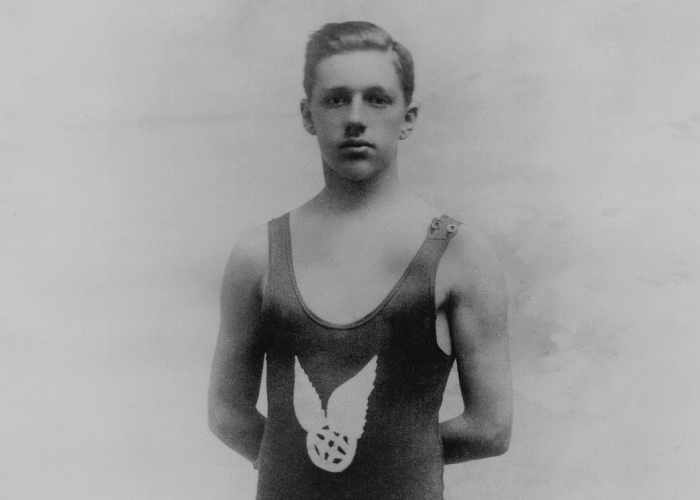 MAA, George Hodgson, Olympic Double-Gold Swimmer